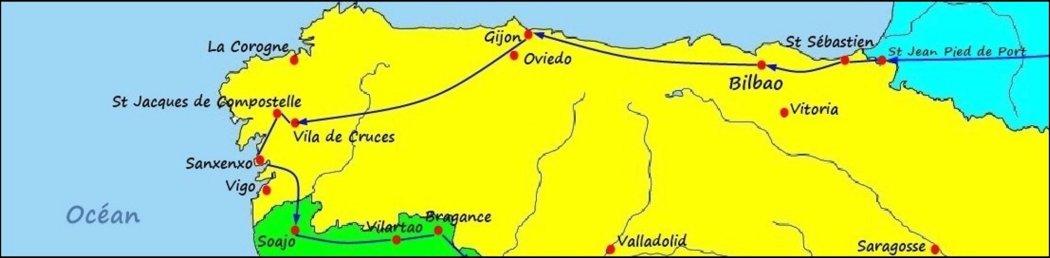 L'Espagne du Nord - De St Sébastien (Espagne) à Soajo (Portugal)