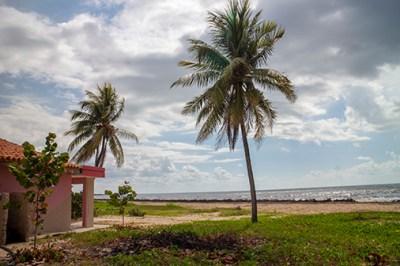 La plage de Bailen - Pinar del Rio (Cuba)