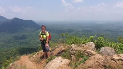 Au sommet du mirador Loma del Mogote - Soroa (Cuba)