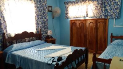 "Notre chambre à la ""casa Norma y Humberto"" - Trinidad (Cuba)"