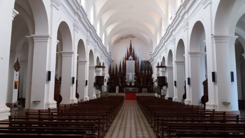 L'église de la Santisima - Trinidad (Cuba)