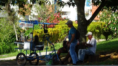 A l'éco village de Las Terrazas - Cuba