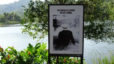 L'étang de Las Terrazas - Cuba (Je resterai vivre dans les collines)