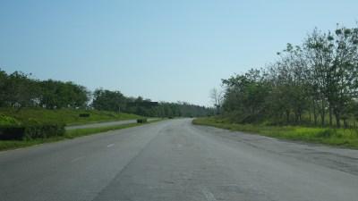 Sur la route entre Las Terrazas et Cienfuegos (Cuba)