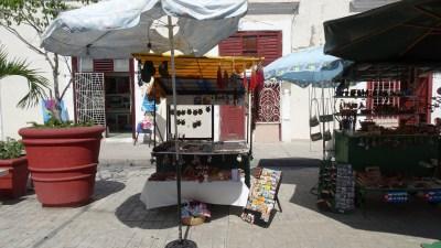 Les rues piétonnes de Cienfuegos - Cuba