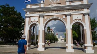 La porte du parc José Marti - Cienfuegos (Cuba)