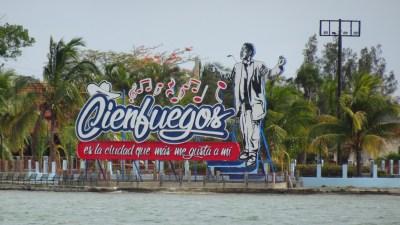Le bord de mer de Cienfuegos - Cuba