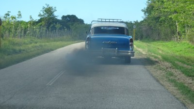 Sur la route entre Cienfuegos et Trinidad - Cuba