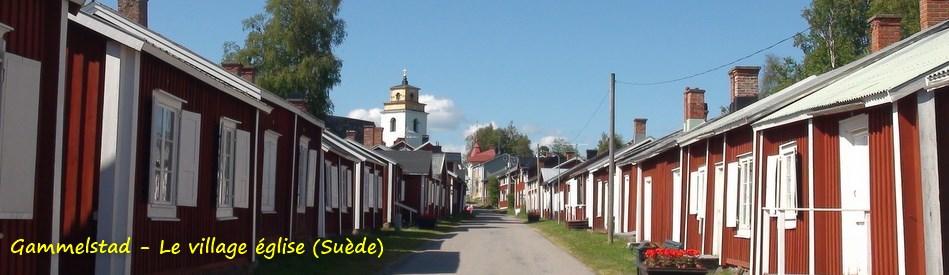 Gammelstad - Le village église (Suède)