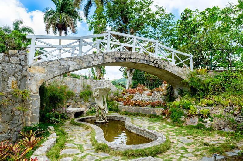 Le jardin botanique El Orquideario - Soroa (Cuba)
