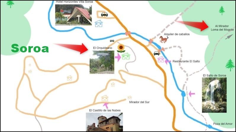 Le jardin botanique El Orquideario et le Mirador Loma del Mogote - Soroa (Cuba)