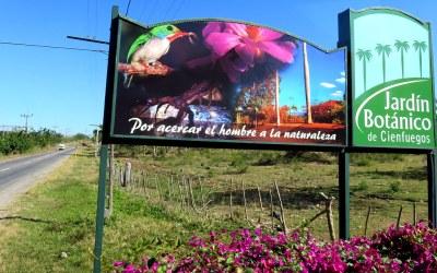 Le jardin botanique de Cienfuegos - Cuba