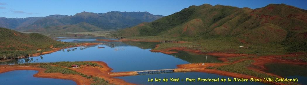 Le lac de Yaté - Parc Provincial de la Rivière Bleue (Nlle Calédonie)