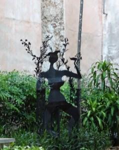 Statue ombre - La Havane (Cuba)