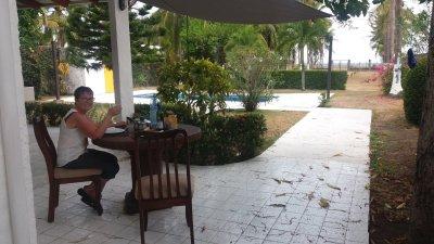 "Repas ""à la maison"" - El Roble (Costa Rica)"