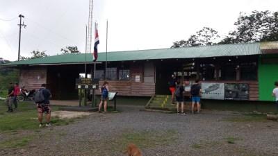 L'entrée du parc du volcan Tenorio - Costa Rica