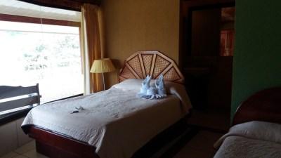 Notre chambre à l'hôtel Linda Vista d'El Castillo - Costa Rica