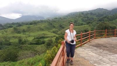 Belvédère depuis l'hôtel Linda Vista d'El Castillo - Costa Rica