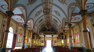 L'église San Rafael - Zarcero (Costa Rica)