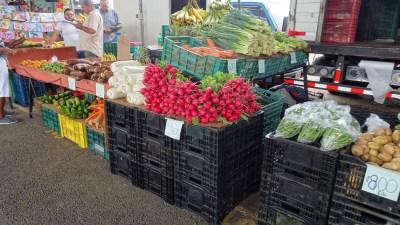 Légumes au marché de Barranca - El Roble (Costa Rica)