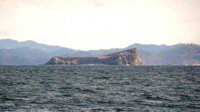Vue depuis la plage de Puntarenas (Costa Rica)
