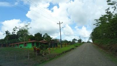 Sur la route du lac Arenal vers El Castillo - Costa Rica