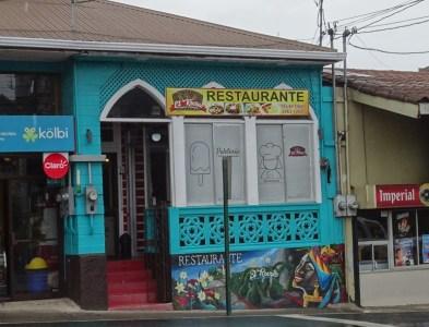 Le restaurant El Recreo - Zarcero (Costa Rica)