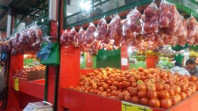Dans les rues commerçantes de Cartago - Costa Rica