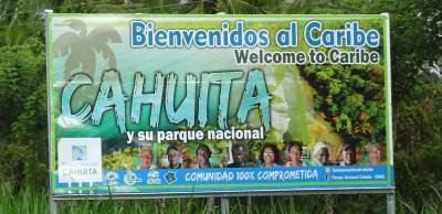 Bienvenue à Cahuita - Costa Rica
