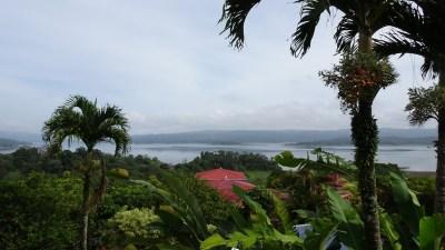 Le lac Arenal depuis l'hôtel Linda Vista - Costa Rica