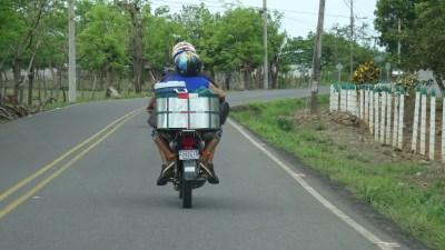 Sur la route du retour sur El Roble - Costa Rica