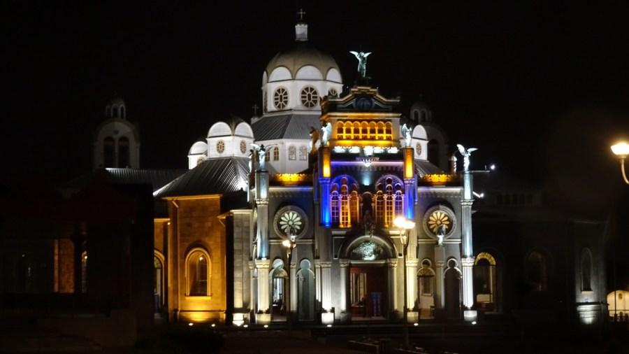 La basilique de Nuestra Senora de los Angeles - Cartago (Costa Rica)