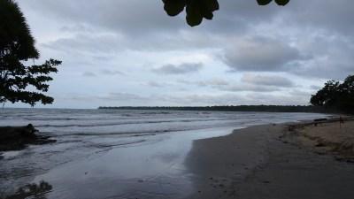 La plage de Cahuita - Costa Rica
