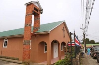 L'église de Santa Elena - Monteverde (Costa Rica)