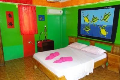Notre chambre au B&B Buena Suerte de Cahuita - Costa Rica