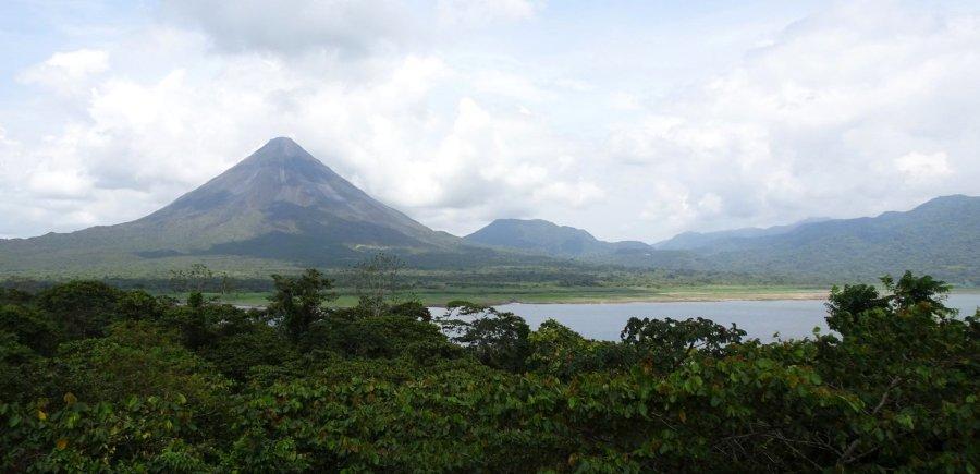 Panorama du volcan Arenal - Costa Rica