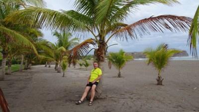 Sur la plage d'El Roble - Costa Rica
