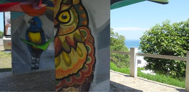 Des peintures murales sur les hauteurs de Jaco - Costa Rica