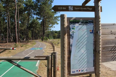Circuit des Bareuyes - St Girons-Plage