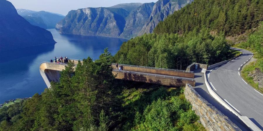 La route 17 - Norvège