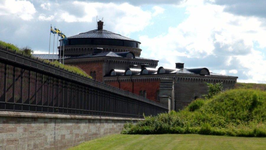 La forteresse de Karlsborg - Suède