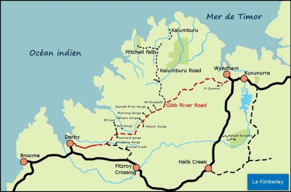 La Gibb River Road - Kimberley (Australie)