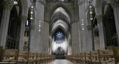 La cathédrale de Nidaros à Trondheim - Norvège
