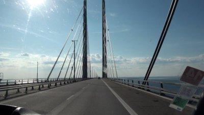 Le pont de l'Oresund - Danemark