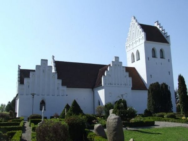 église de Snesere - Danemark