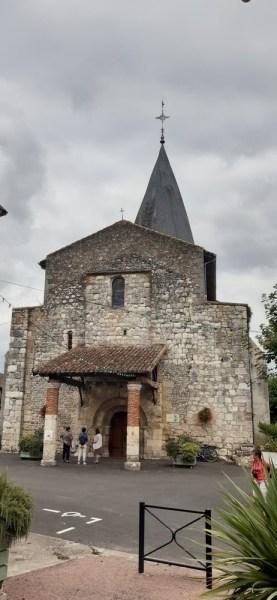 L'église de Sérignac-sur-Garonne