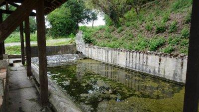 La fontaine de St Pé - Damazan