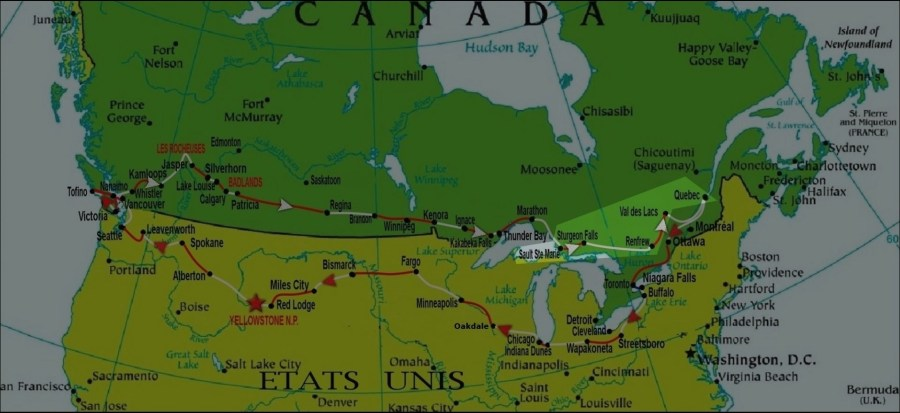 Canada et Etats Unis en camping-car (2015) - Secteur 5