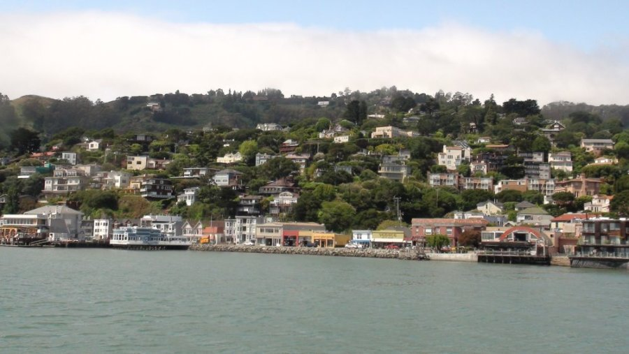 Sausalito - San Francisco (Californie)