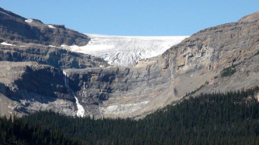 le glacier Bow - Rocheuses canadiennes